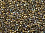 FP Faceted Beads Round 3 mm