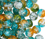 Round Beads 6mm Cracked