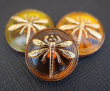 Cabochons With Dragonfly