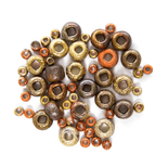 Etched Seed Beads