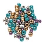 Pressed Seed Beads