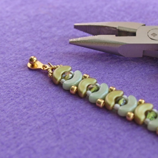 "TUTORIAL JEWELRY SET ""OLIVE"" (Special file free for ScaraBeads)"