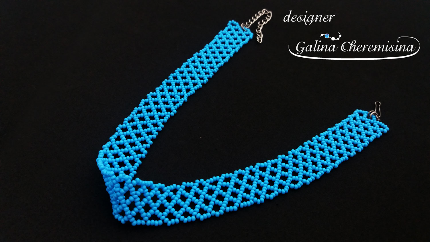 Diy Beading For Beginners Bracelet Or Choker Made Of Seed Beads Scarabeads Us