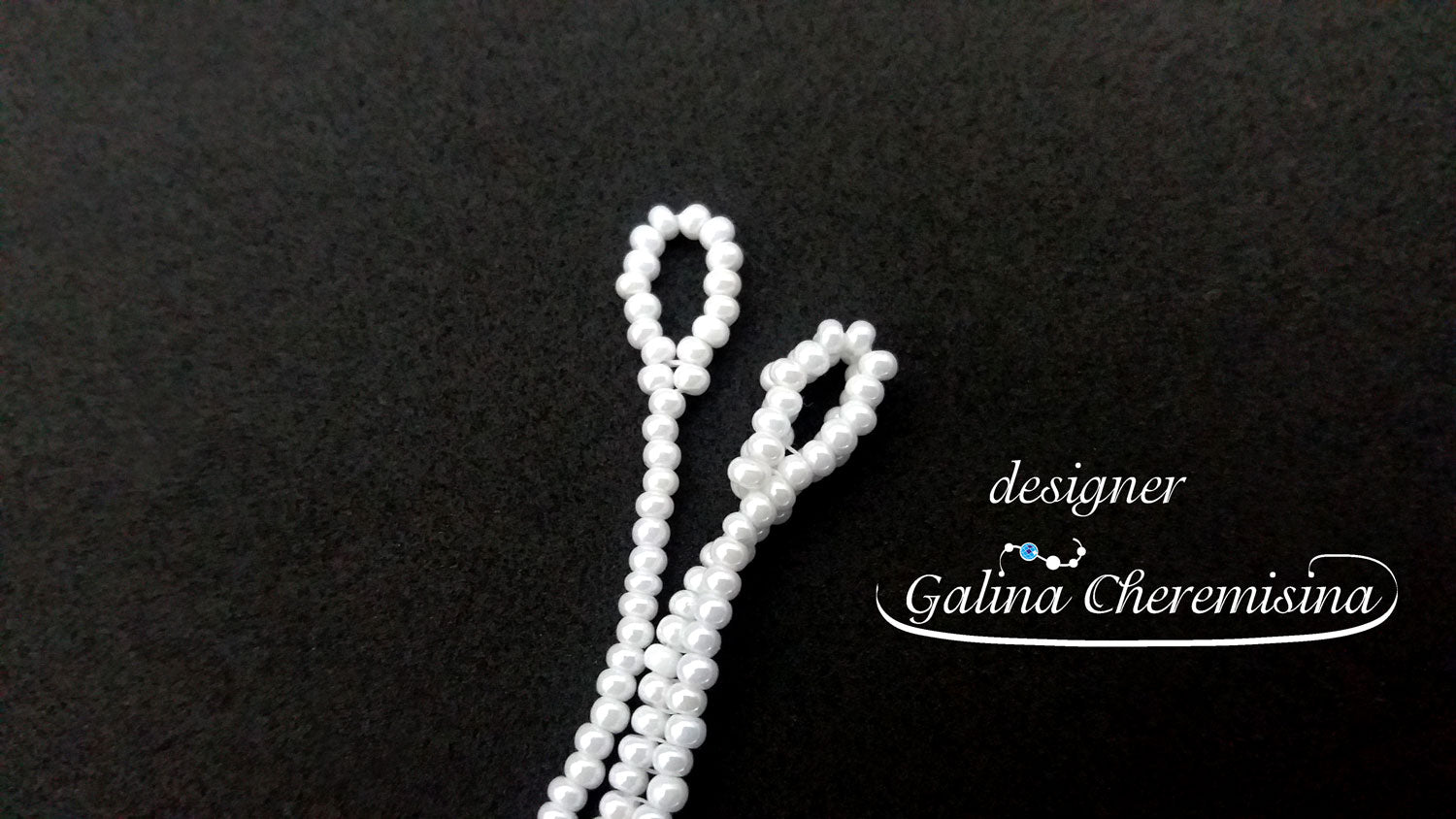 foto How to finish beaded chain with a loop findings [Video Tutorial]