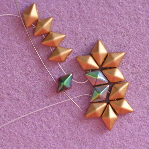 TUTORIAL EARRINGS «SUE» (FREE FOR SCARA BEADS)
