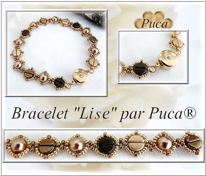 Bracelet and Necklace Lise Gold