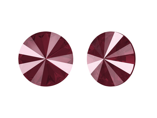Rivoli Stones 1122 14 mm, Crystal Dark Red, Swarovski, Austria