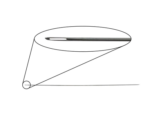Pearlstringing Needle 0.5x100 mm, Metal