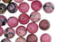 Natural Stones Round Beads 10 mm, Rhodonite, Minerals, Russia
