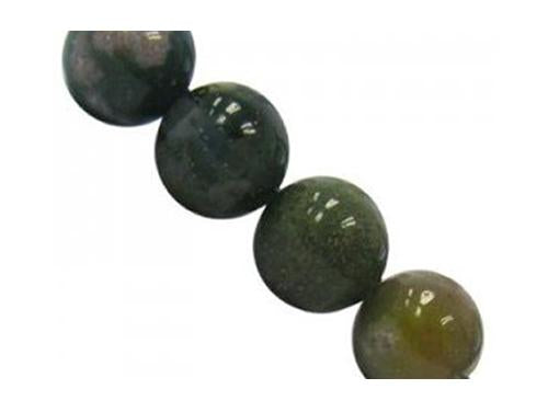 Semi-precious Stone Round Beads 10 mm, Fancy Jasper, Minerals,