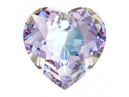 Heart Cut 6432 10.5 mm, Crystal Vitrail Light Foiled, Swarovski, Austria