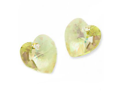 Xilion Heart 6228 10.3x10 mm, Crystal Luminous Green, Swarovski, Austria