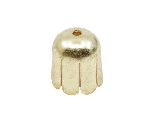 2 pcs Bead Cap 11 mm, Gold, Metal