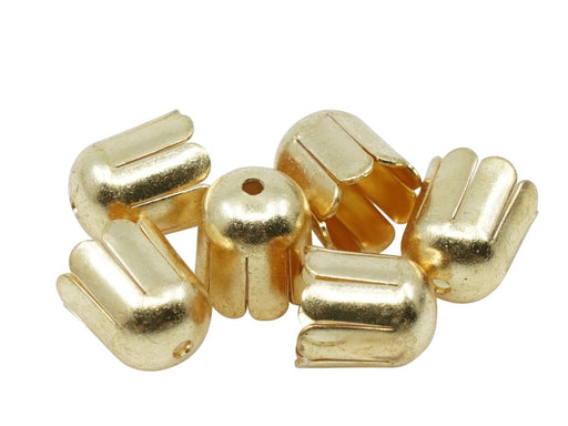 Bead Cap 11 mm, Gold, Metal