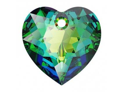Heart Cut 6432 14.5 mm, Crystal Vitrail Medium Foiled, Swarovski, Austria