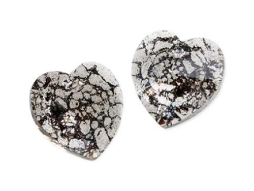 Xilion Heart 6228 14.4x14 mm, Crystal Black Patina, Swarovski, Austria
