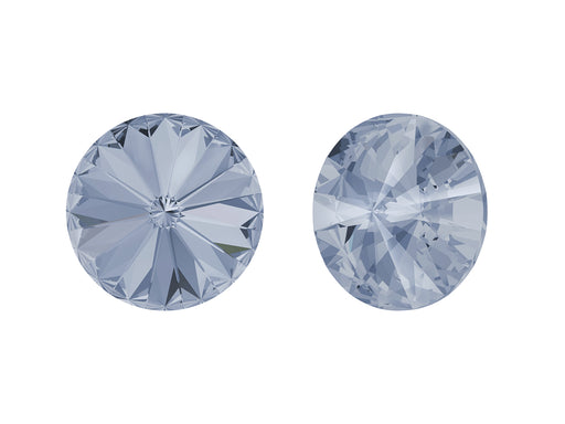 Rivoli Stones 1122 14 mm, Crystal Blue Shade Platinum Foiled, Swarovski, Austria