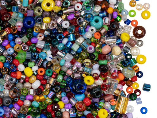 Mixes , all Preciosa Beads, Czech Glass