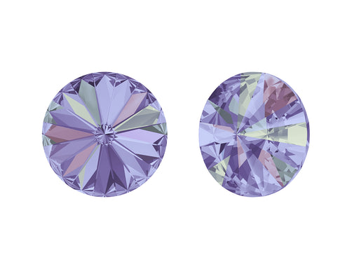 Rivoli Stones 1122 14 mm, Crystal Vitrail Light Platinum Foiled, Swarovski, Austria