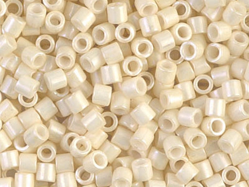 Delica Seed Beads 8/0, Light Yellow Ceylon, Miyuki Japanese Beads