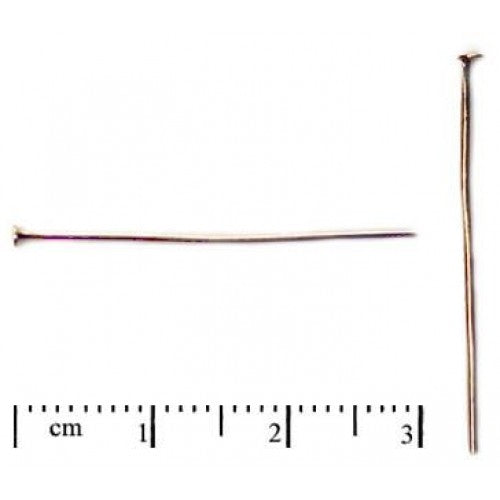 Headpin, 30mm, Gold