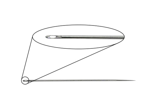 Pearlstringing Needle 0.4x30 mm, Metal