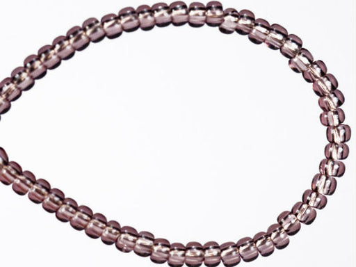 20 g 11/0 Seed Beads Preciosa Ornela, Light Amethyst Transparent, Czech Glass