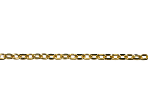 1 pc Chain without Clasp, 45cm (17.7inch), Gold Plated