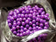 100 pcs Round Pearl Beads, 4mm, Pastel Purple, Czech Glass