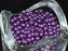 100 pcs Round Pearl Beads, 4mm, Violet, Czech Glass