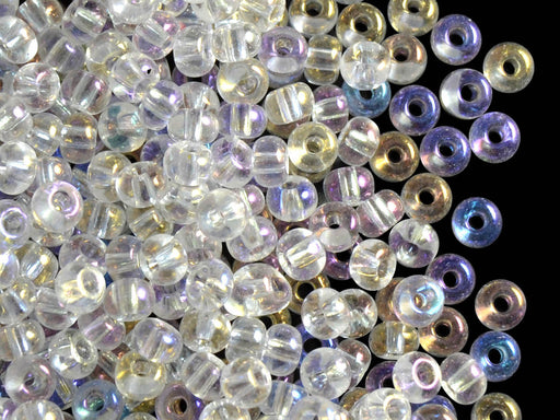20 g 5/0 Seed Beads Preciosa Ornela, Crystal AB, Czech Glass