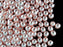 50 pcs Round Pearl Beads, 6mm, Pale Pink Shell Pearl, Czech Glass