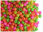 20 g 7/0 Seed Beads Preciosa Ornela, NEON Mix Opaque, Czech Glass