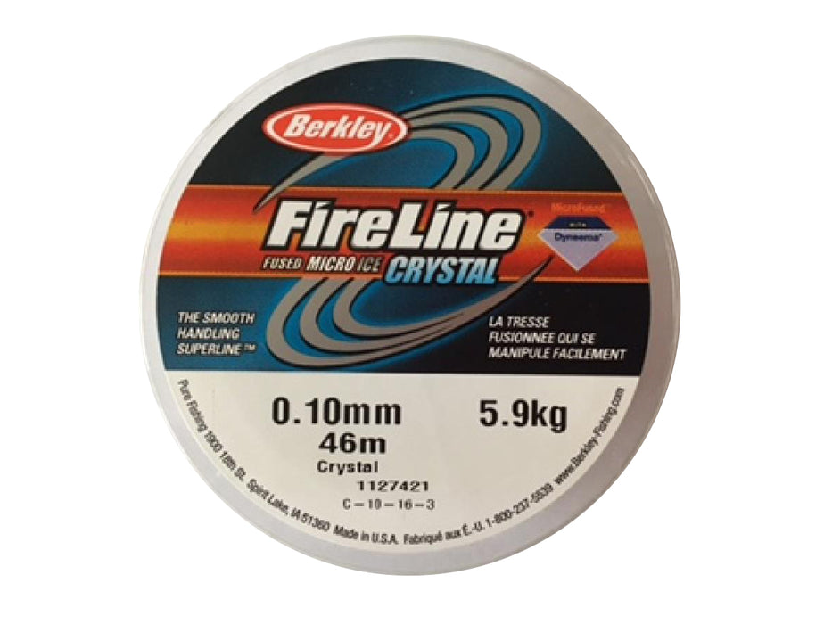 1 pc Beadsmith Fireline 0.10mm Average Diameter, 46m (50YD), Crystal Clear