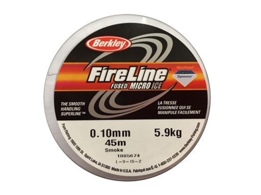 1 pc Beadsmith Fireline 0.10mm Average Diameter, 45m (50YD), Smoke Grey
