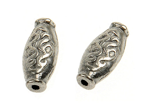 1 pc Connector Charm, 15.2x7mm, Antique Silver