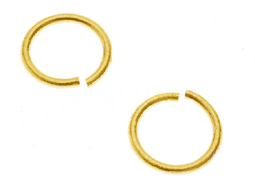 1 pc Jump Ring, 4.6mm, Gold Plated