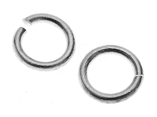 1 pc Jump Ring, 5.9mm, Platinum Plated