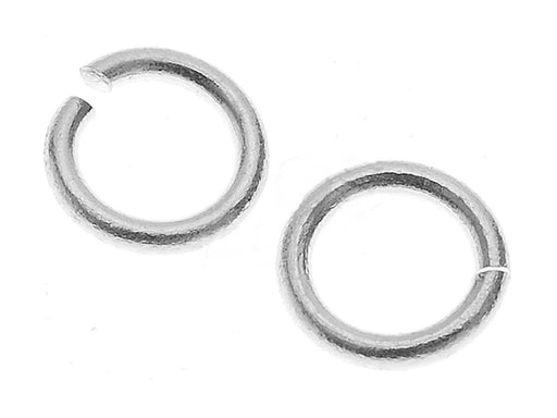1 pc Jump Ring, 5.9mm, Silver Plated
