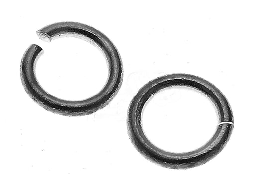 1 pc Jump Ring, 5.9mm, Black Plated