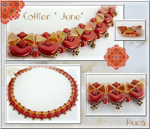 5 g Minos® Par Puca® Beads, 2.5x3mm, Alabaster Pastel Amber, Czech Glass