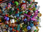 40 g Mix Beads, Various Shapes And Colors, Czech Glass, Czech Glass