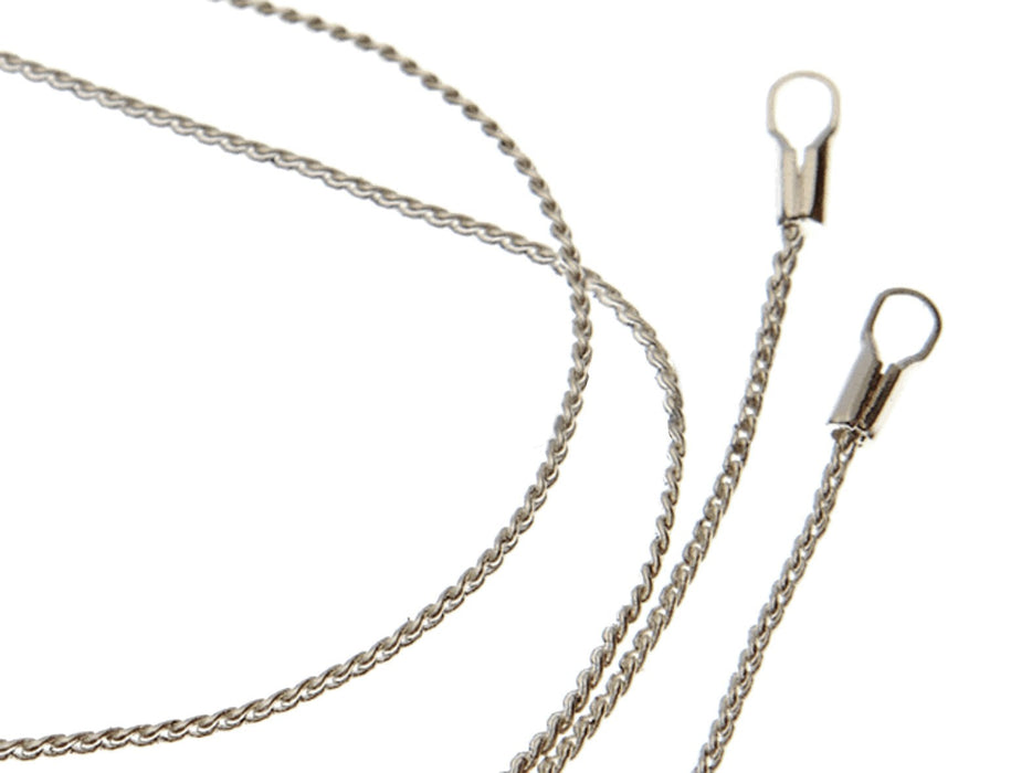 1 pc Chain with Clasp, 50cm (19.7inch), Silver Plated
