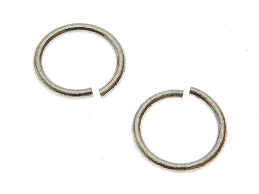 1 pc Jump Ring, 4.6mm, Platinum Plated