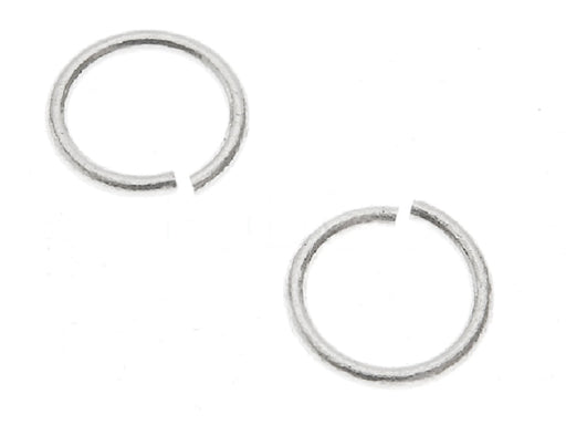 1 pc Jump Ring, 4.6mm, Silver Plated