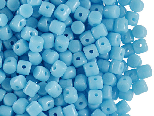 5 g Minos® Par Puca® Beads, 2.5x3mm, Opaque Blue Turquoise , Czech Glass