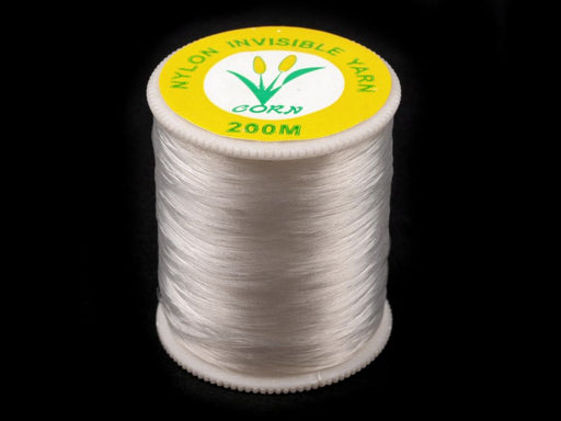 1 pc Sewing Thread Monofilament, 200m (219yd), Transparent