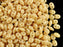 20 g 2-hole SuperDuo™ Seed Beads, 2.5x5mm, Opaque Beige, Czech Glass