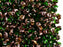 20 g 2-hole SuperDuo™ Seed Beads, 2.5x5mm, Chrysolite Capri Gold, Czech Glass