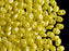20 g 2-hole SuperDuo™ Seed Beads, 2.5x5mm, Pastel Yellow, Czech Glass